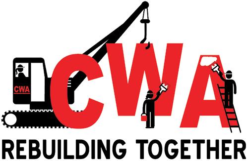 CWA Rebuilding Together Logo
