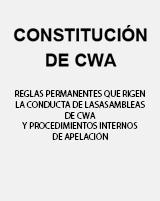 Constitucion de CWA en Espanol