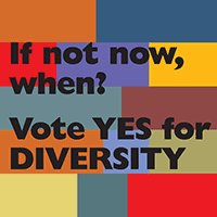Vote Yes for Diversity