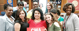 CWA Local 1031 Is CWA STRONG
