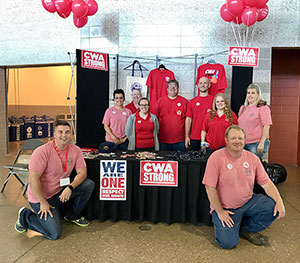 Local 7103 Is CWA STRONG