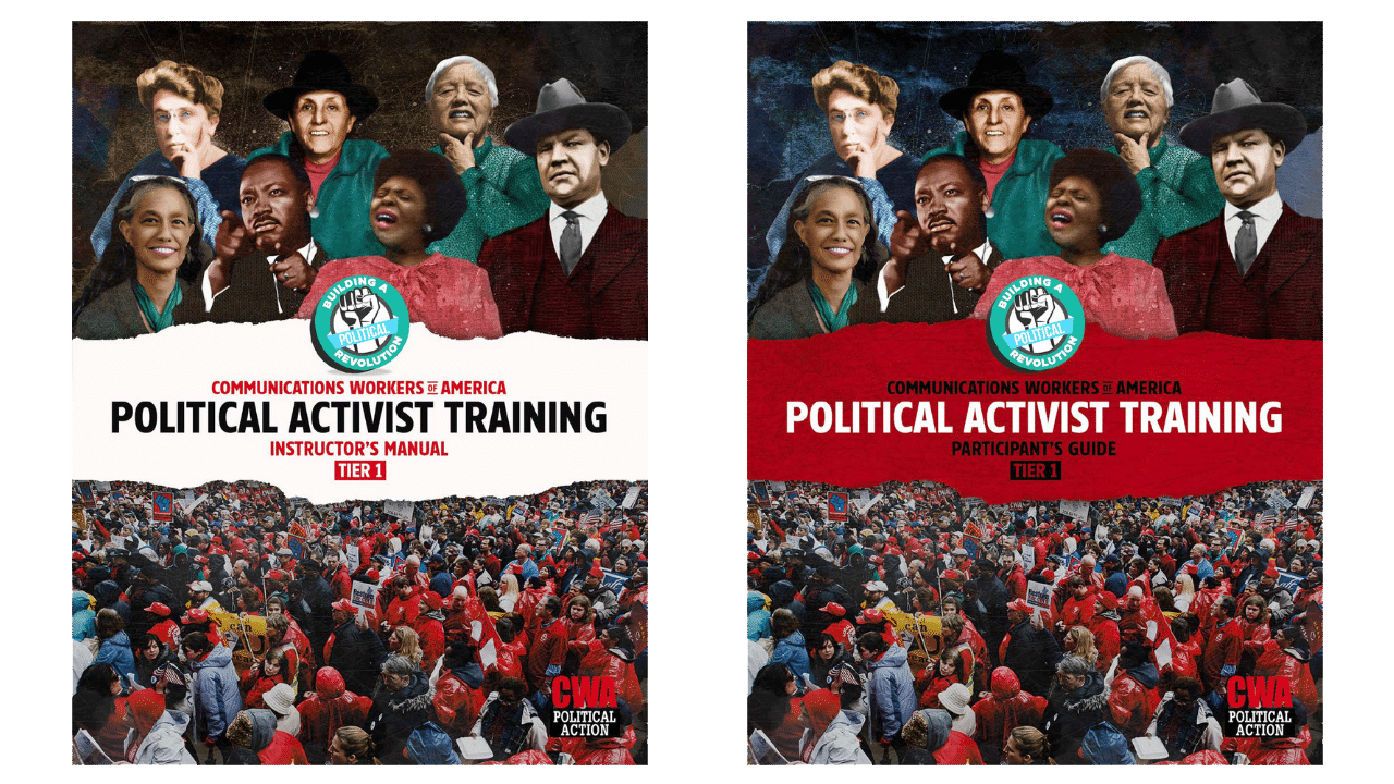 CWA Political Activist Training Materials Cover