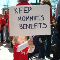 Keep Mommie's Benefits