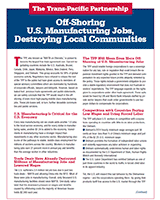 The TPP WIll Accelerate the Offshoring of Service Sector Jobs=