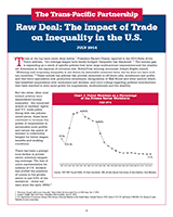 Raw Deal: The Impact of Trade and Inequality in the Middle Class=