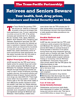 Seniors Beware: Your health, food, drug prices, Medicare and Social Security Are at Risk=