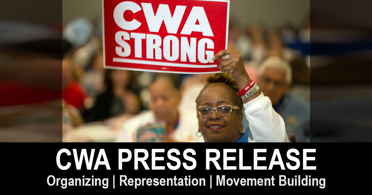 CWA Statement on Proposed Sale of Lumen Technologies Assets to Apollo Global Management, Inc.