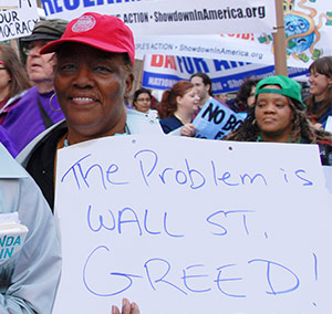 Wall Street Greed is the Problem