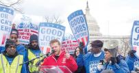 Standing up for good jobs