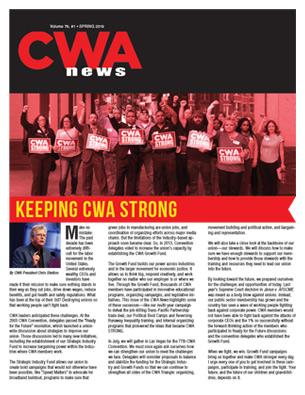 CWA News Spring 2019