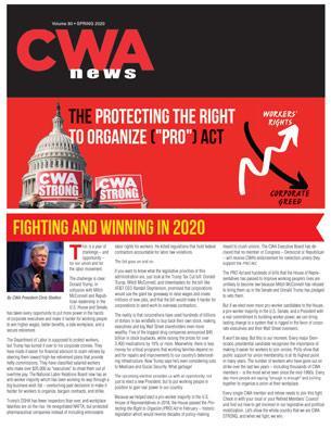 CWA News 2020