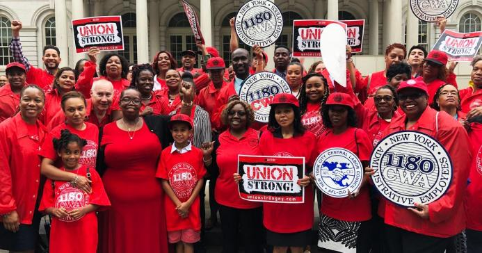 Local 1180 Union Strong