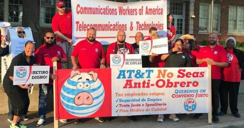 20190502enews AT&T Shareholders Meeting Rally