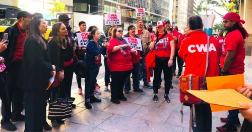 Workers Protest Racial Discrimination at Verizon Wireless