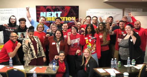 CWA Next Generation is Fired Up and Ready to Go in District 7