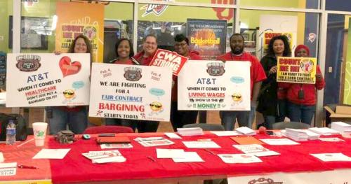 CWA D6 AT&T Mobilization