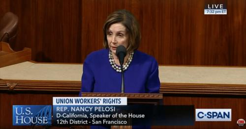 Pelosi on House Floor