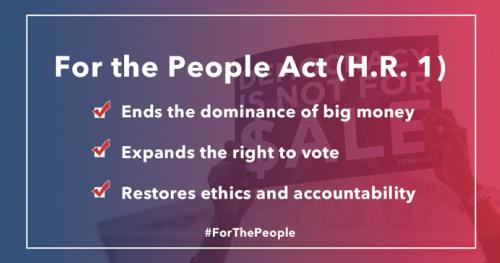 Anniversary of the For the People Act