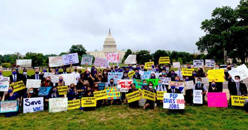 AFA Rally for CARES Act
