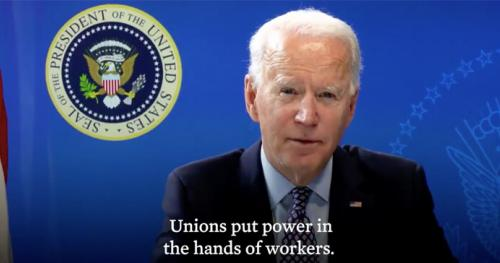 Biden Supports Union