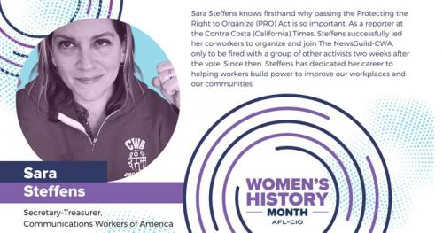 Steffens for Women's History Month