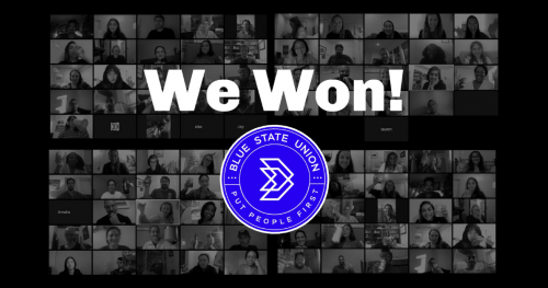 Blue State Recognition
