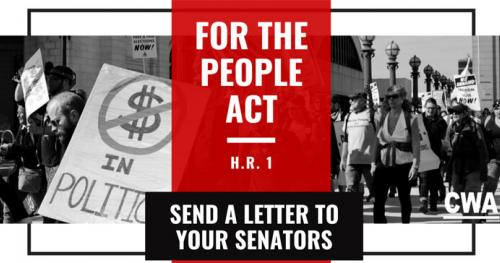 Tell Your Senators to Pass the For the People Act