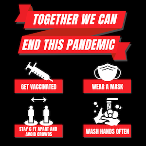 Together we can end this pandemic.